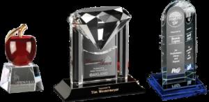 Salem OR Custom Crystal Awards, Trophies & Plaques   Capital Trophy