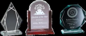Salem OR Custom Glass Awards, Trophies & Plaques | Capital Trophy